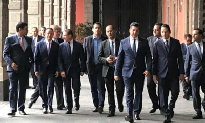López Obrador, Gobernadores, Panistas, Reunión, Javier Corral, Falta, Palacio Nacional,