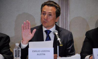 Juez federal gira orden de aprehensión contra el ex director de Pemex Emilio Lozoya y contra Alonso Ancira, dueño de Altos Hornos de México, quien de acuerdo con la agencia Notimex, ya habría arrestado en Mallorca, España.