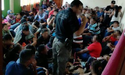Rescatan a migrantes centroamércianos en Ecatepec/ La Hoguera
