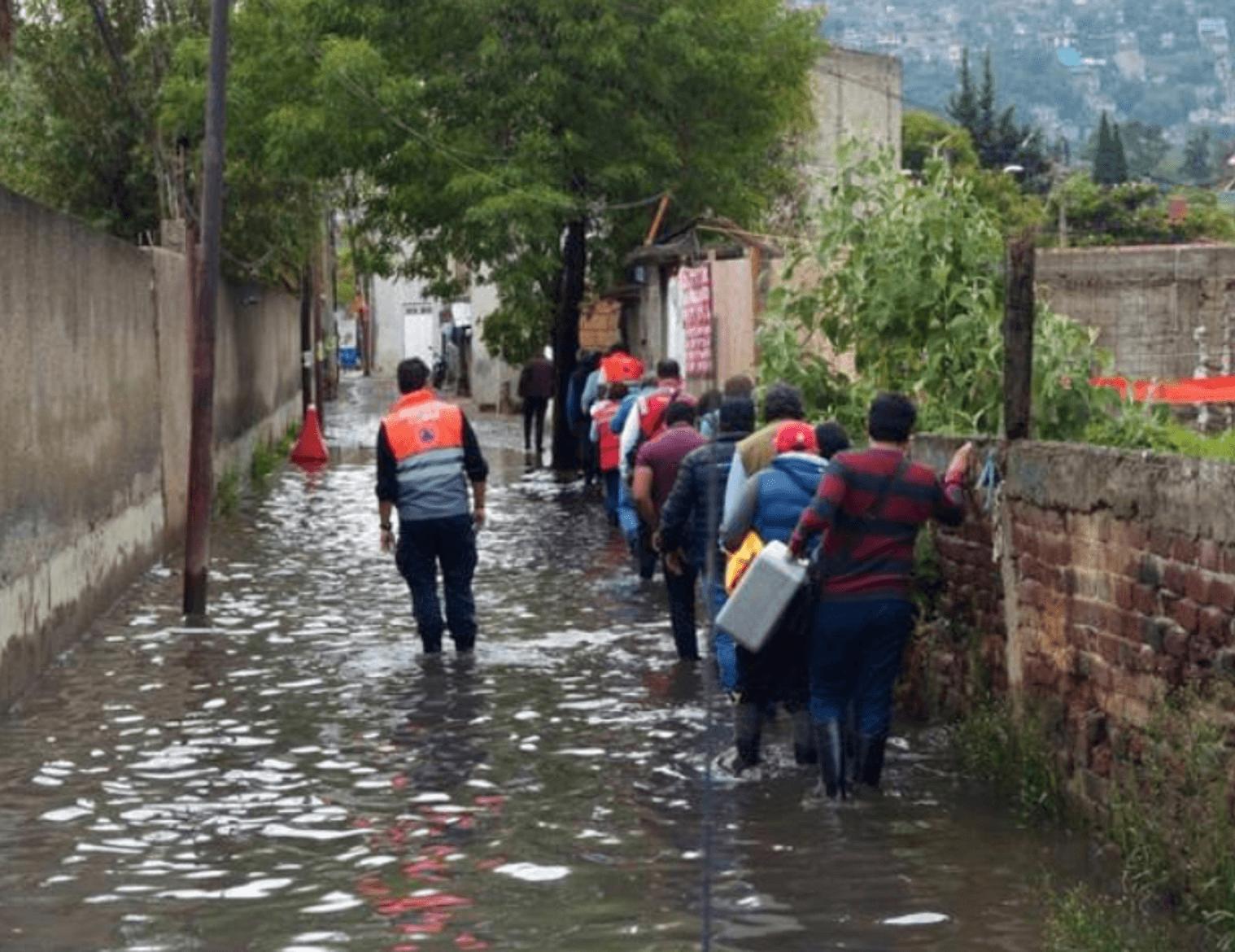 Alerta amarilla por lluvias en 11 alcaldías de la CDMX