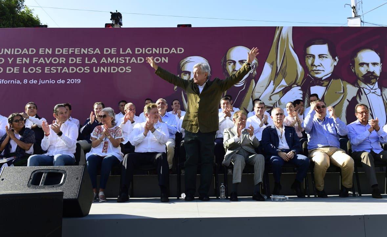 MArcelo Ebrard, McDonald's, AMLO , Tijuana, Aranceles, Discurso,