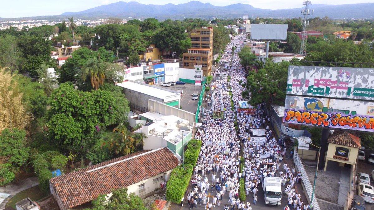 Marcha Paz Cuernavaca México marchan
