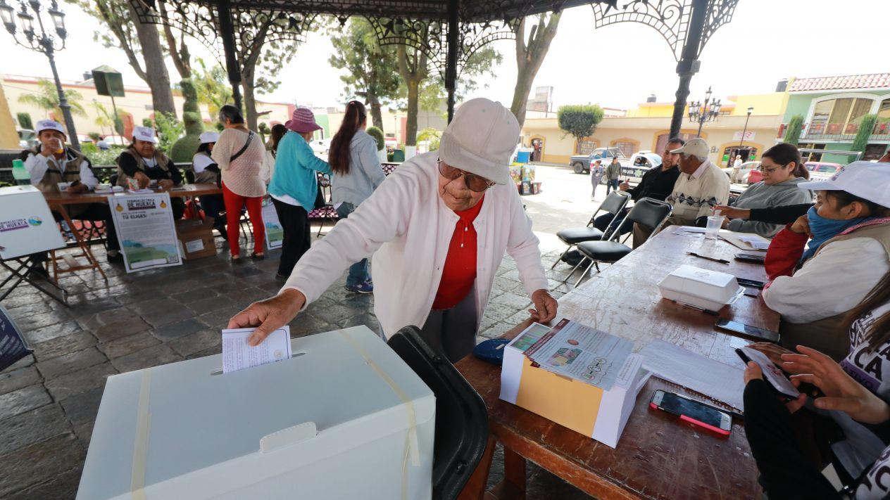Puebla, Elecciones, Votan, Votación, Barbosa, Elección, INE, Electorado, ELectoral,