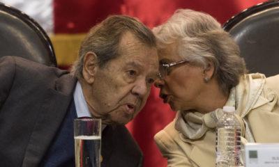 SRE viola ley migratoria para satisfacer a EU: Muñoz Ledo