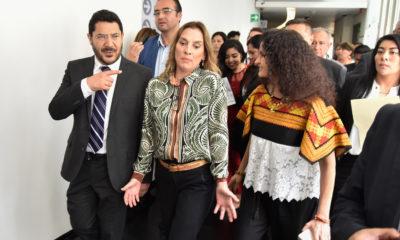 Beatriz Gutiérrez Müller lamenta comentarios hacia Geraldine Ponce/ La Hoguera