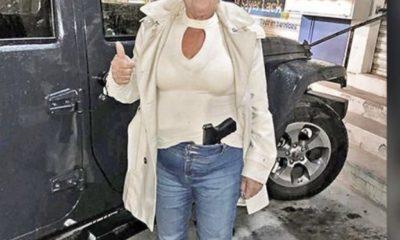 Causa revuelo senadora de Morena que posa con un arma