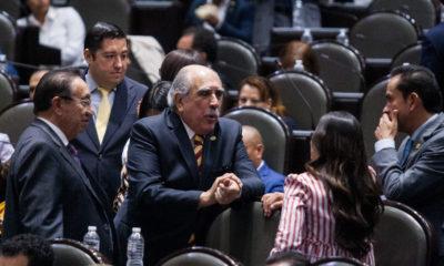 Pablo Gómez defiende a AMLO ante reproche de la CNDH