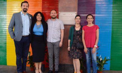 CDMX coloca placa de Red Latinoamericana de Ciudades Arcoíris