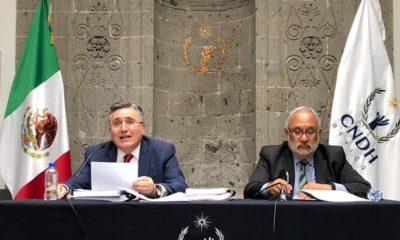 Presidente de CNDH critica desdén de AMLO a su informe de labores