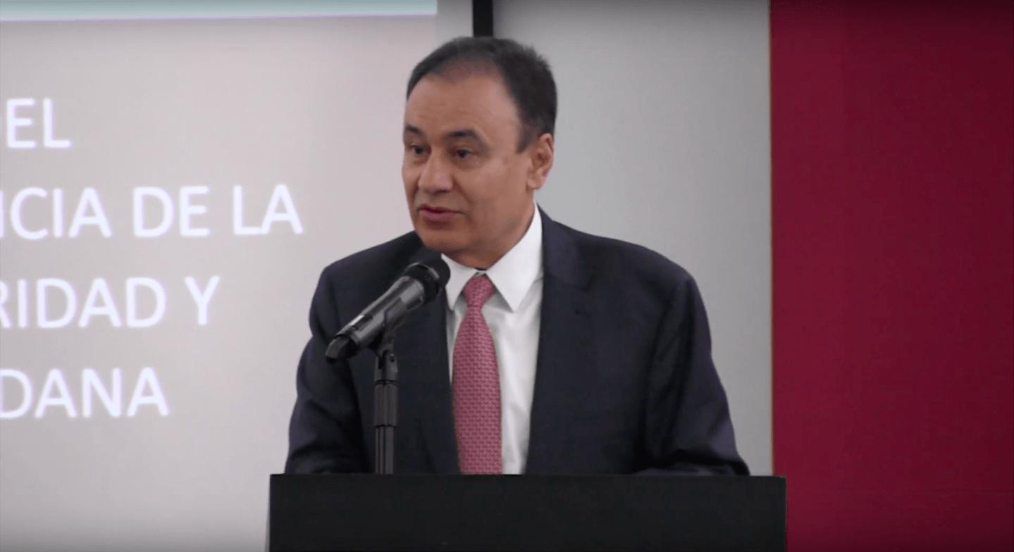 Alfonso Durazo asegura que se respetará a policías federales derechos y prestaciones