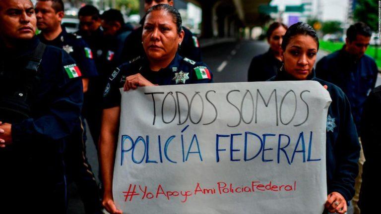 Policía Federal, Policías Federales, Protestas, Guardia Nacional, Alfonso Durazo, Policía,