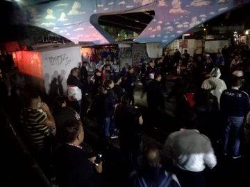 Reportan balacera en inmediaciones de Metro Tacuba