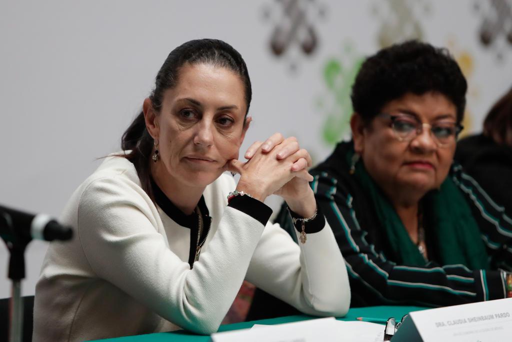 Sheinbaum PGJ feministas
