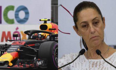 Sheinbaum Fórmula 1 3 años