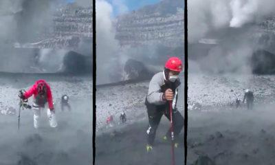 cráter popocatépetl