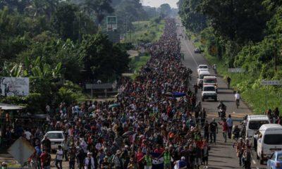 Migrantes protestan por cuarto día consecutivo en Tapachula