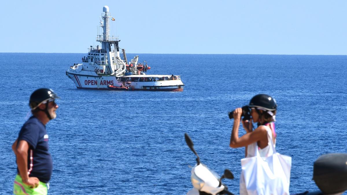 Open Arms, Buque, Varado, Migrantes, España, Italia, Ayuda, ONG,