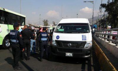 CDMX y Edomex inician operativos para blindar transporte público