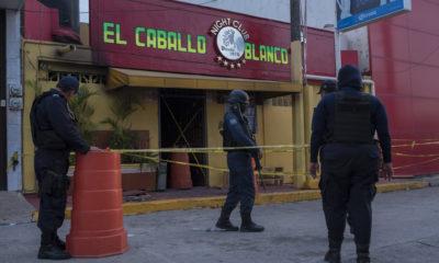 Aumenta a 31 el número de muertos por ataque a bar en Coatzacoalcos