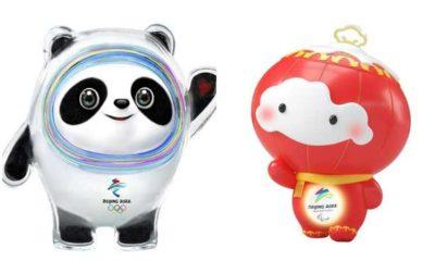 Presentan las mascotas para los Juegos Olímpicos de Invierno de Beijing 2022