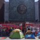 CNTE se manifiesta de nuevo fuera de Cámara de Diputados por reforma educativa