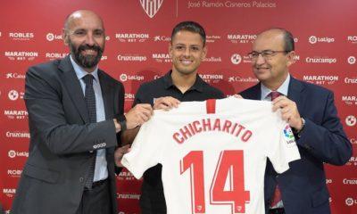 Chicharito, Sevilla, Chicharito Hernández, Futbol, Europa, Club europeo, Jugador, Mexicano, Delantero,