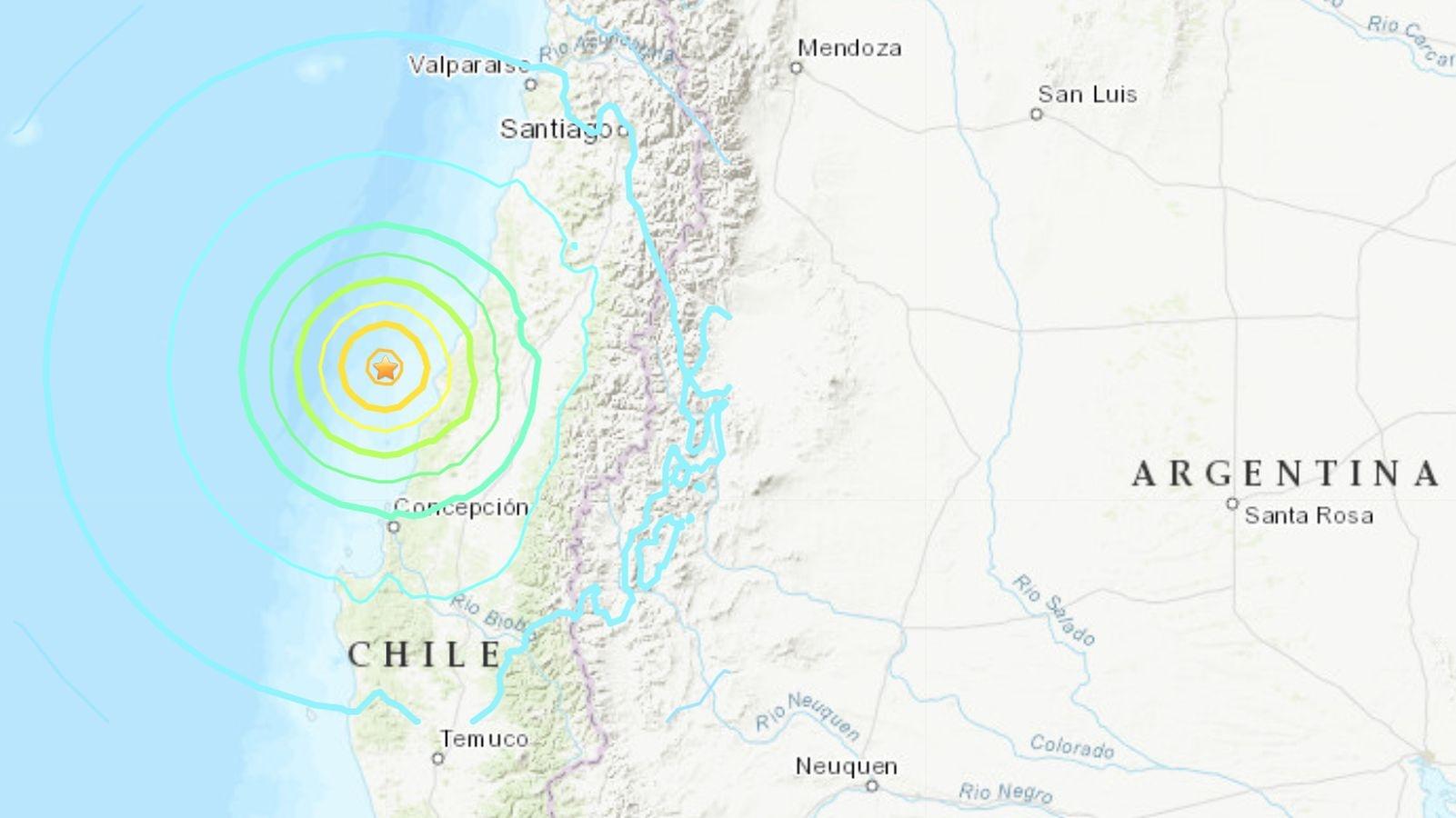 Sismo de 6.6 grados sacude al territorio chileno