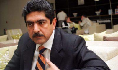 Manuel Espino acude a Palacio Nacional con el coordinador de 'superdelegados'