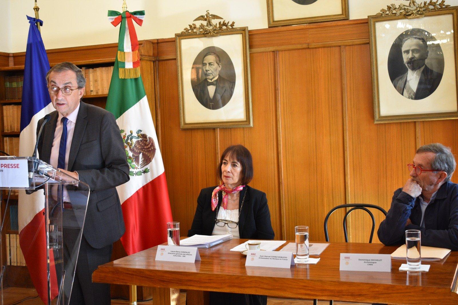 México solicita a Francia detener subasta de piezas prehispánicas