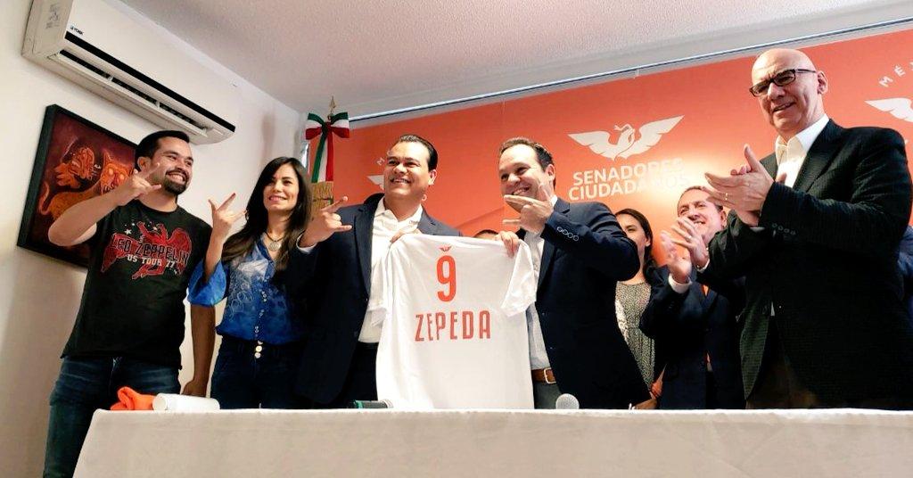 MC cobija a Juan Zepeda tras renuncia al PRD