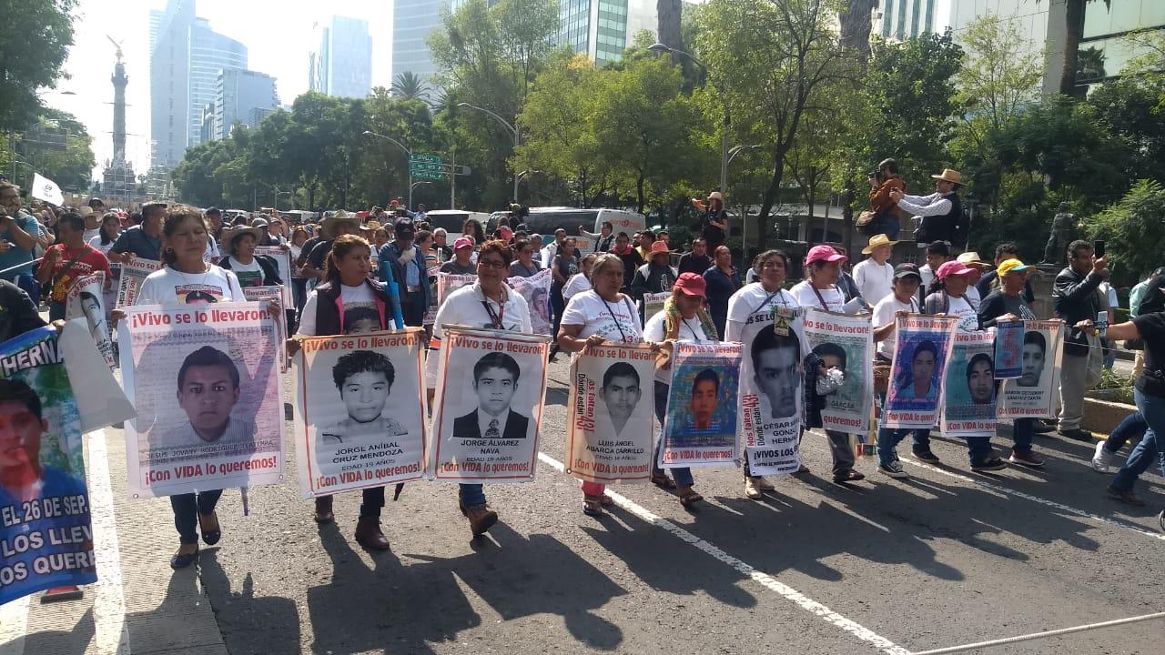 Marcha por Ayotzinapa, 5 años de lucha