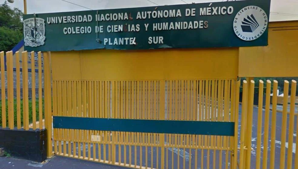 CCH condena las agresiones sexuales a alumna del plantel Sur