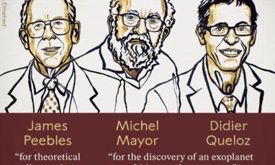 Dan Nobel de Física a nueva comprensión del universo