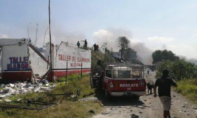 Explota polvorín en Zumpango; 2 muertos y 6 heridos