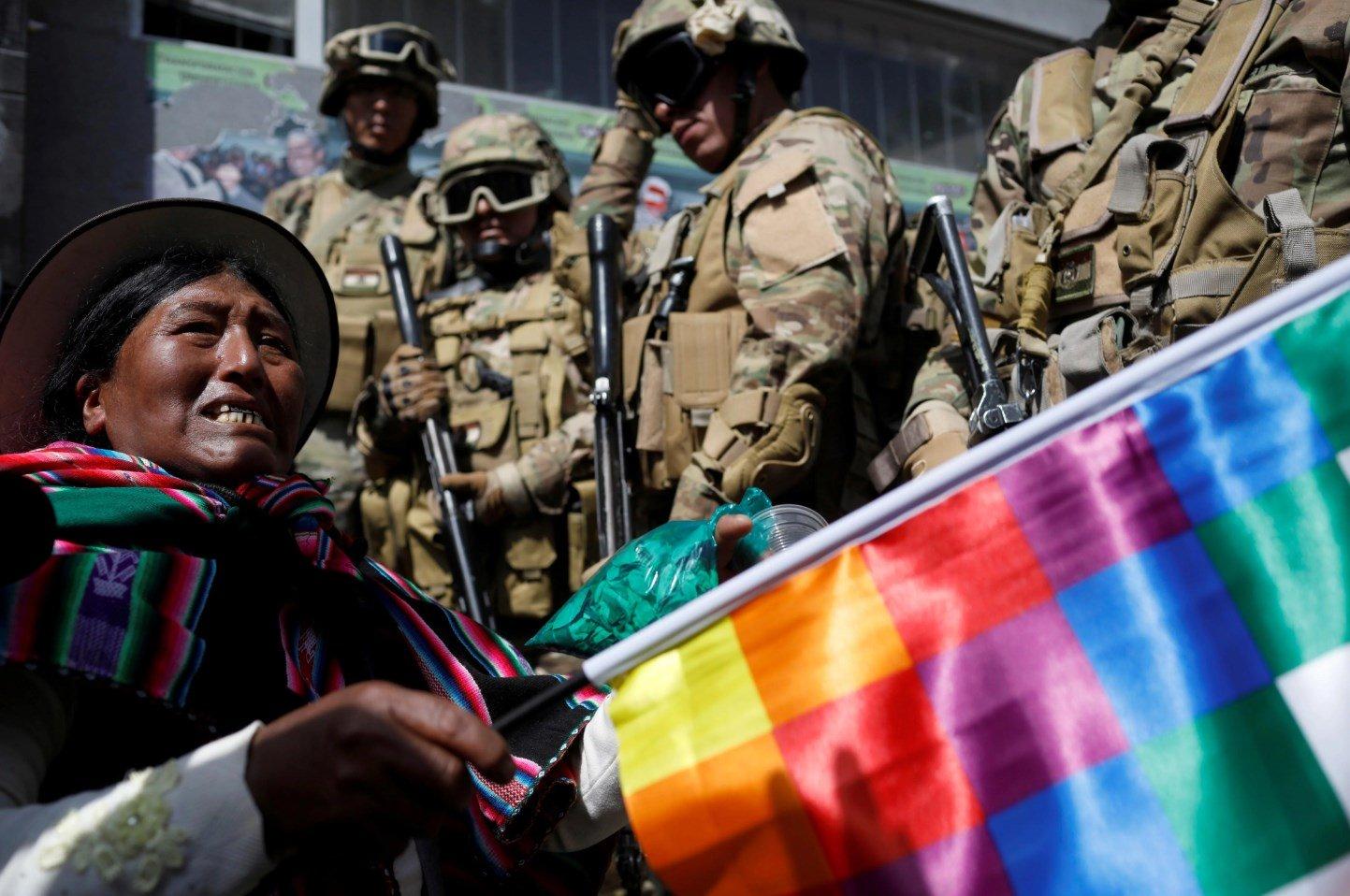 Bolivia, Cocaleros, Cochabamba, Protestas, Manifestaciones, Renuncia, Jeanine Áñez,