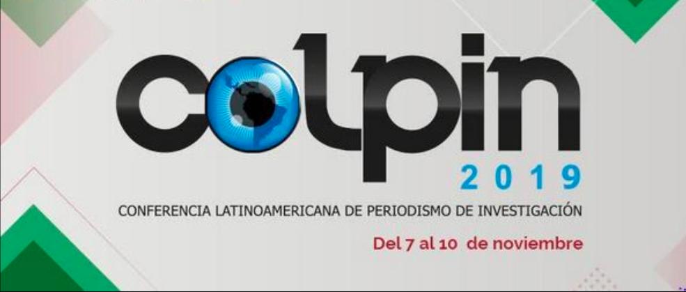 COLPIN 2019 en sede del Inai; traerá investigaciones de crímenes impunes