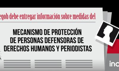 Segob debe informar sobre protección a defensores de DDHH y periodistas