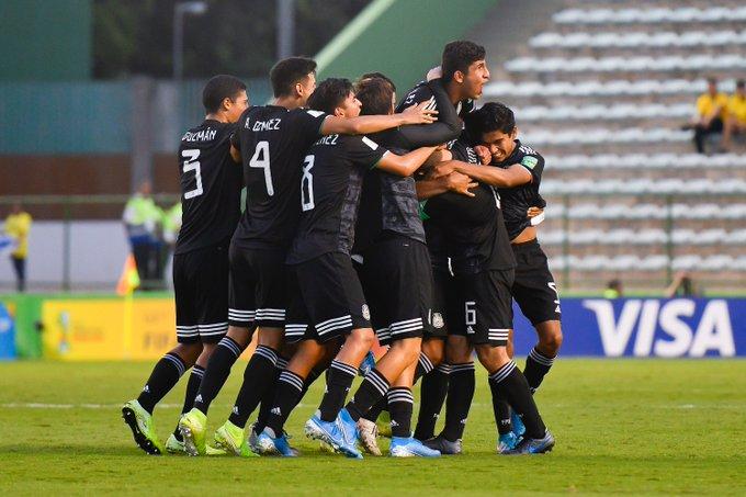 México pasa a la final del mundial de futbol Sub-17
