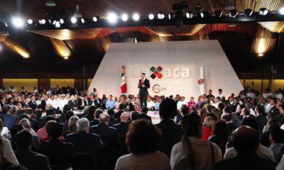 Alejandro Murat rinde su tercer informe de gobierno de Oaxaca