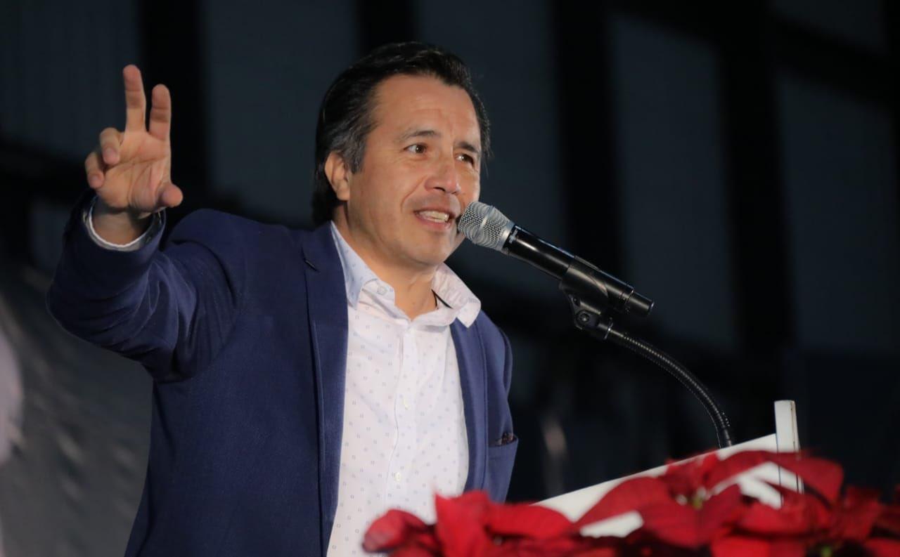 Cuitláhuac García rinde primer informe de gobierno