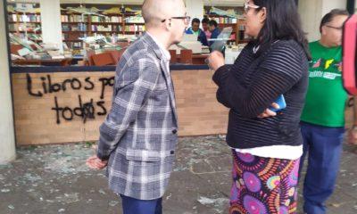 Jorge Volpi agradece a comunidad universitaria apoyo a la librería