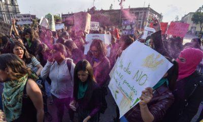 Marcha, Mujeres, Feminista, Feministas, CDMX, Ciudad de México,
