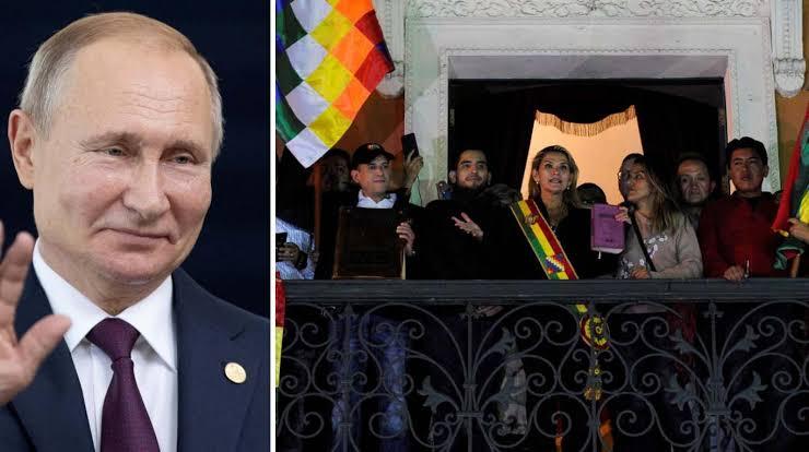 Putin, Vladimir, Putin, Bolivia, Jeanine Áñez, Moscú,
