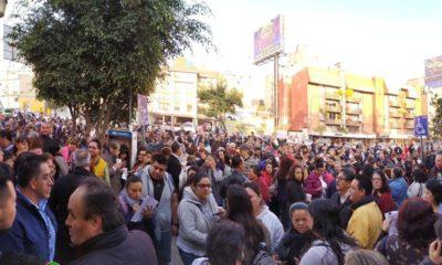 Trabajadores de la SEP bloquearon avenida Universidad