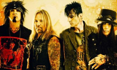 Mötley Crüe regresa a los escenarios después de 5 años