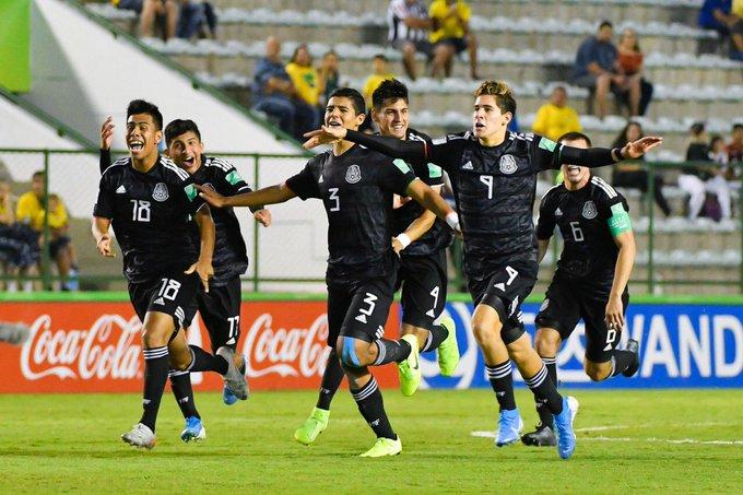 México Sub 17 se encuentra listo para la final contra Brasil