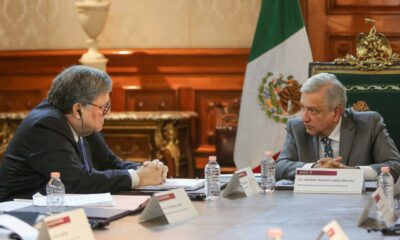 AMLO recibe a fiscal general de Trump