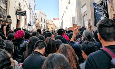 Alumnos de Universidad de Guanajuato amagan con continuar paro