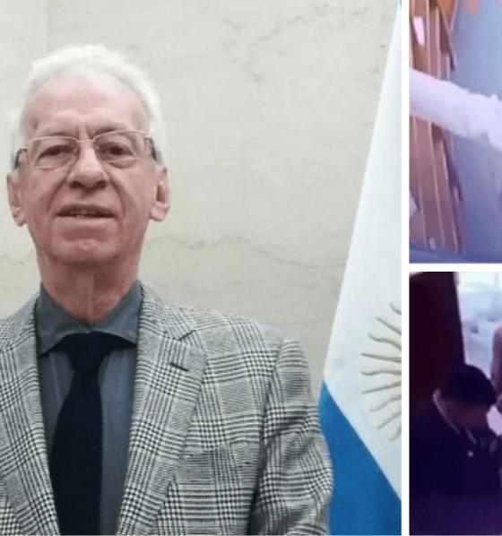 Embajador, Libro, Robo, Argentina, Destituido,