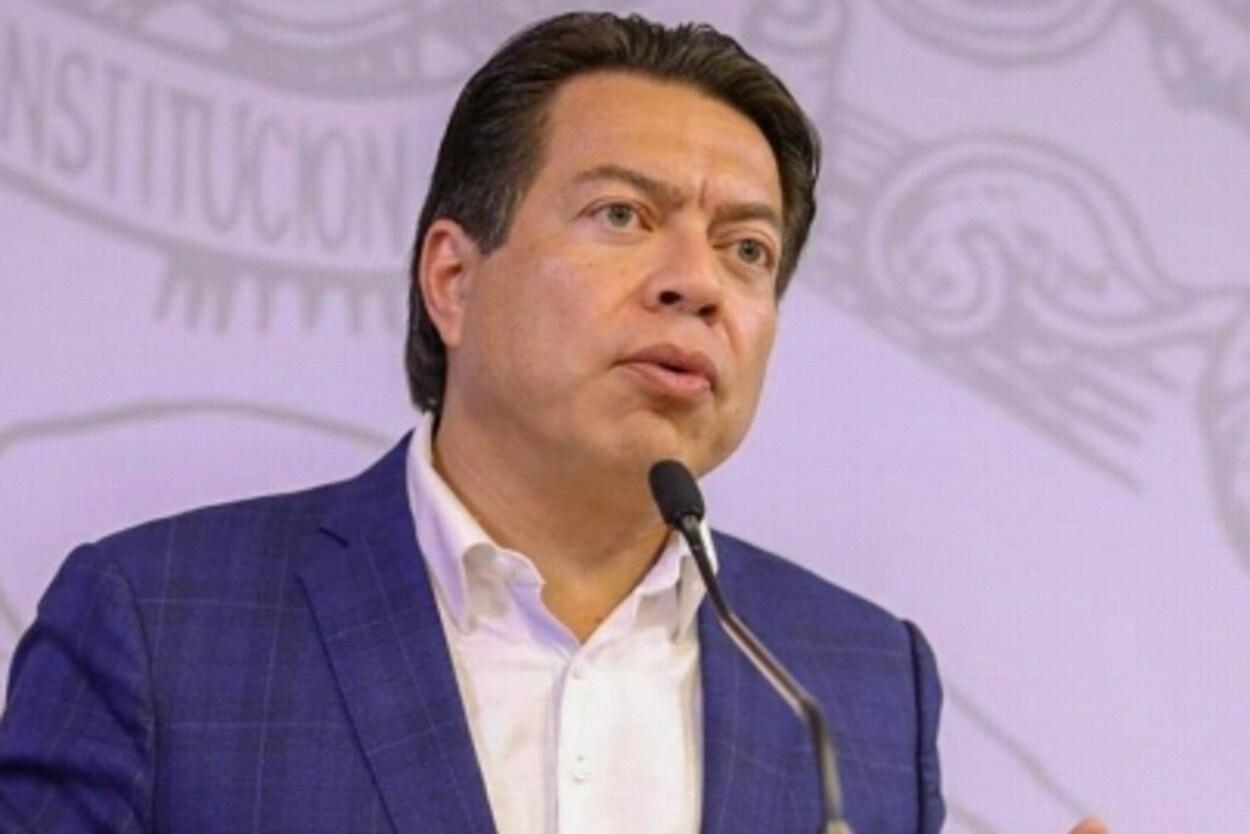 Defiende Mario Delgado actual redacción del proyecto de Ley de Amnistía